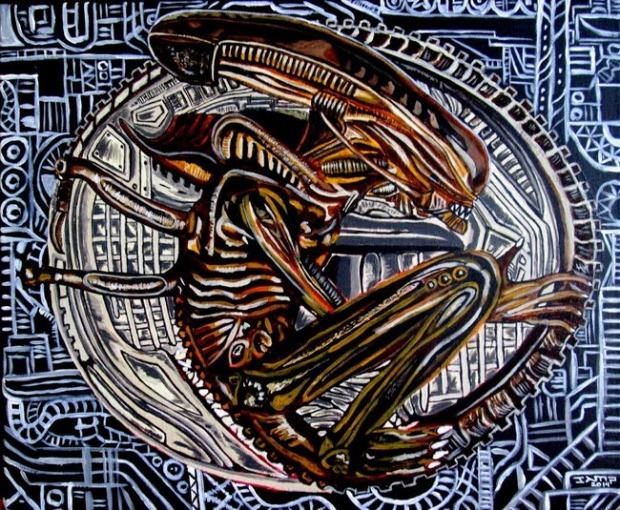 Alien by Jose A.Méndez