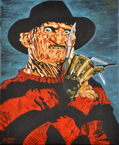 Freddy Krueger by Jose A.Méndez