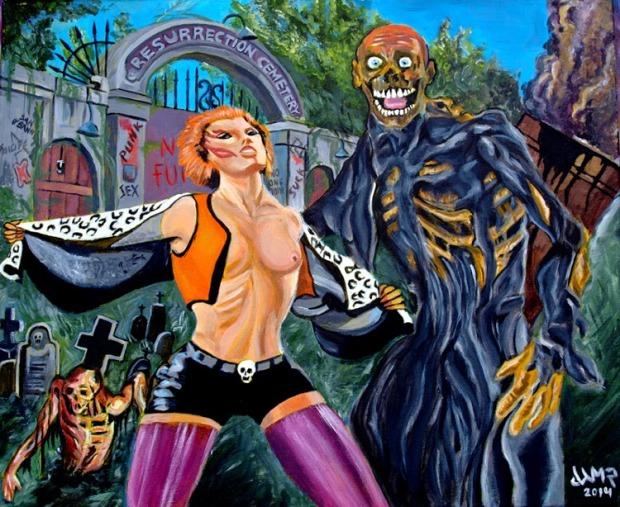 Return Living Dead by Jose Antonio Méndez