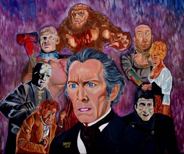 Frankenstein Saga (Hammer Films) by Jose A.Méndez