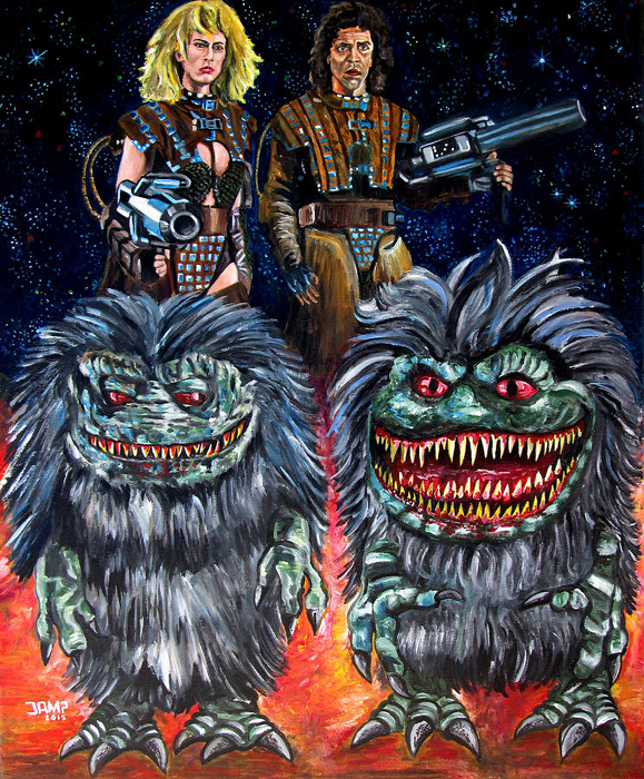 critters by j.a.mendez