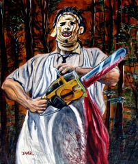 Leatherface by Jose A.Méndez