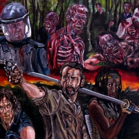 Walking dead by J.A.Méndez