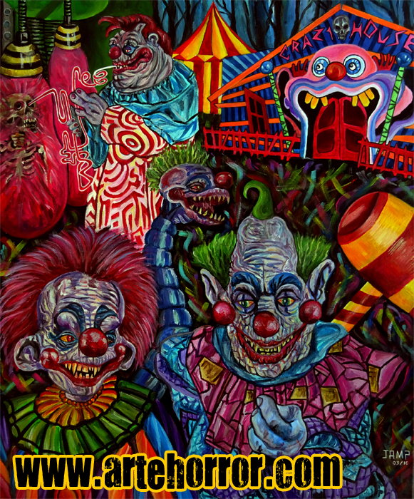 Killer Klowns by J.A.Mendez