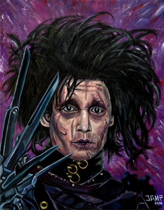 Edward Scissorhands by J.A.Mendez