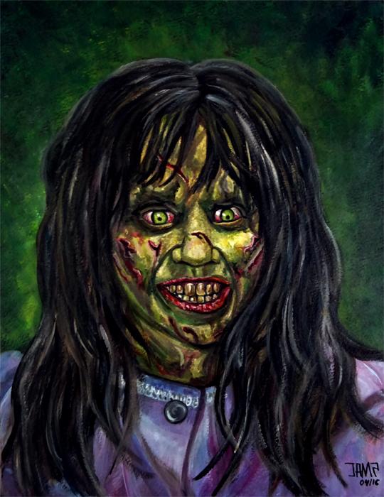 Regan ( The Exorcist ) by J.A.Mendez