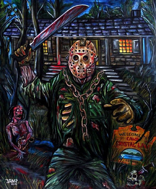 Friday the 13th by J.A.Méndez