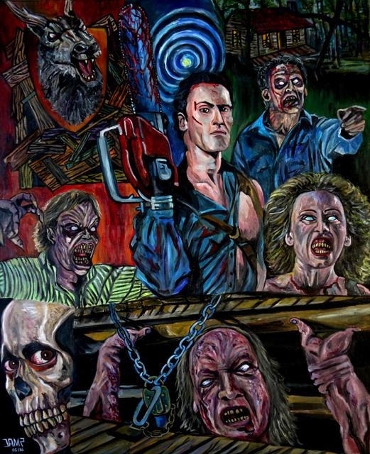Evil Dead 2 by J.A.Méndez.jpg