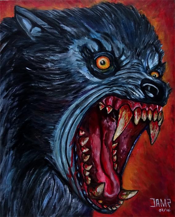 American Werewolf by J.A.Mendez