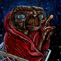 E.T.(the extraterrestrial) by J.A.Mendez