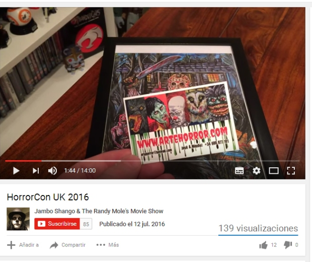 HorrorCon Uk 2016 Video