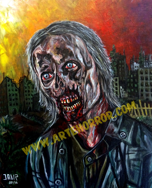 Zombie by J.A.Mendez
