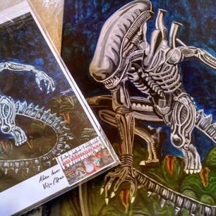 Alien desde California (Agosto 2016)
