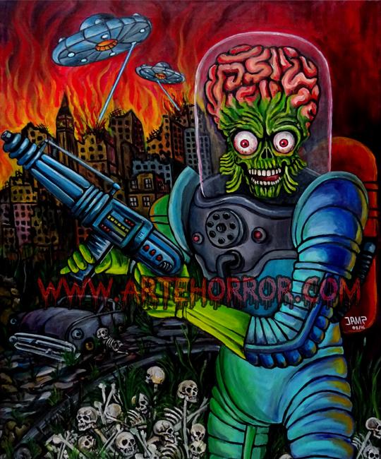 Mars Attacks by J.A.Mendez