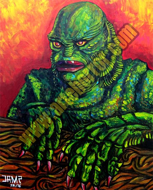 Creature Black Lagoon by J.A.Mendez.jpg