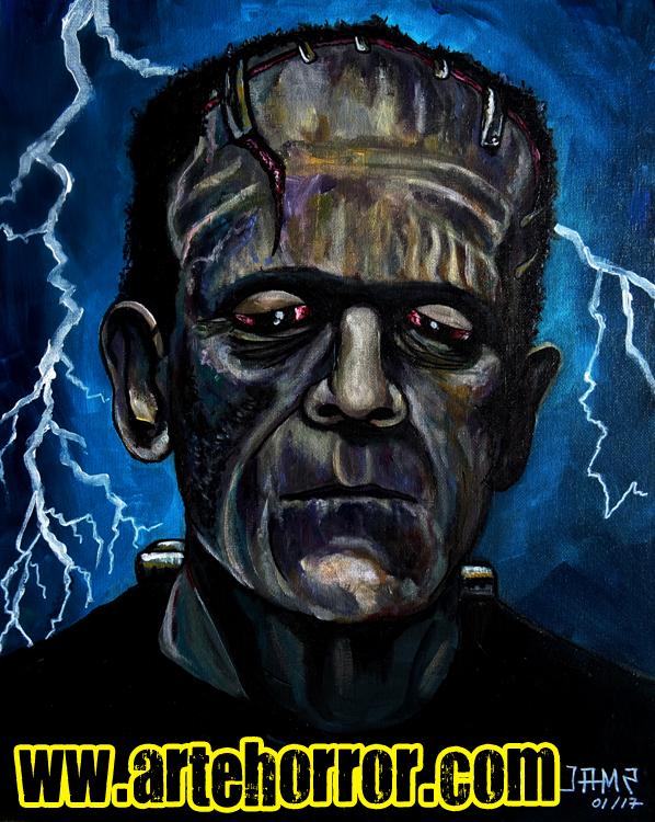 Frankenstein (Karloff)by Josef Méndez