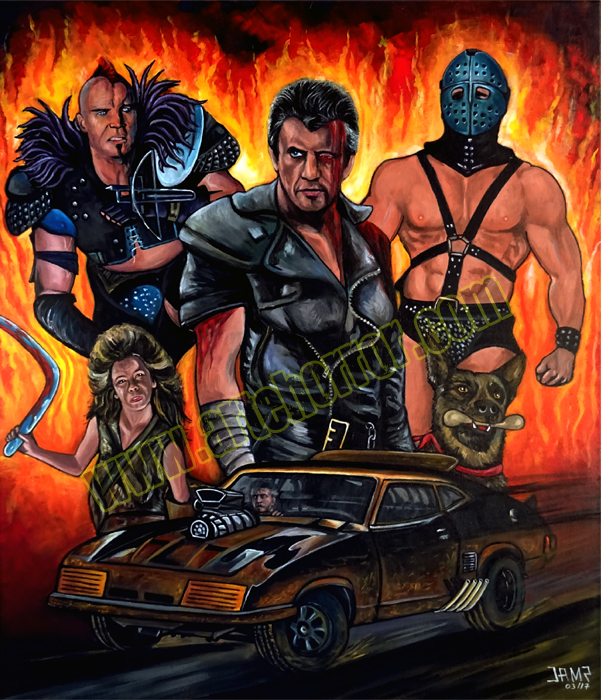Mad Max 2 by  J.A.Mendez.jpg