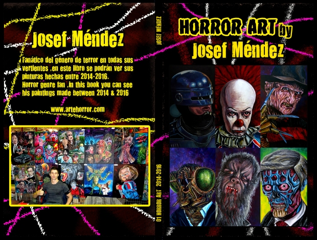 Horror Art Book by Josef Méndez