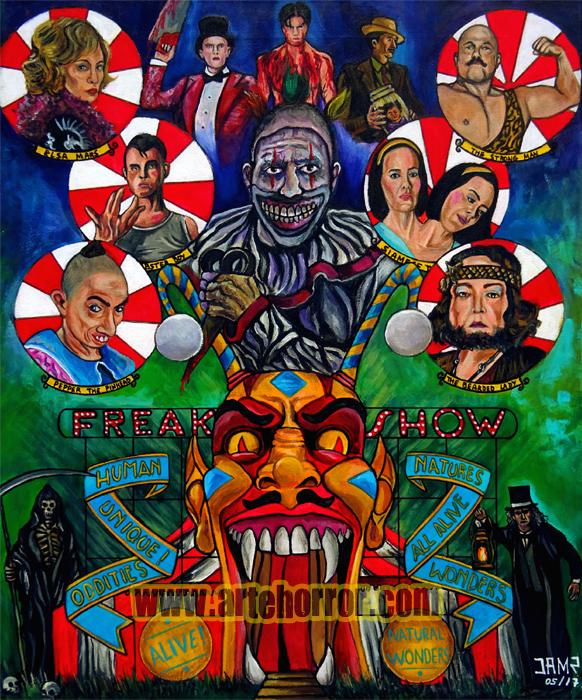 Freak Show by J.A.Mendez