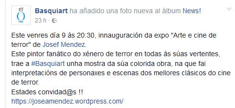 Basquiart Exposición 01 Josef Méndez 09-06-2017