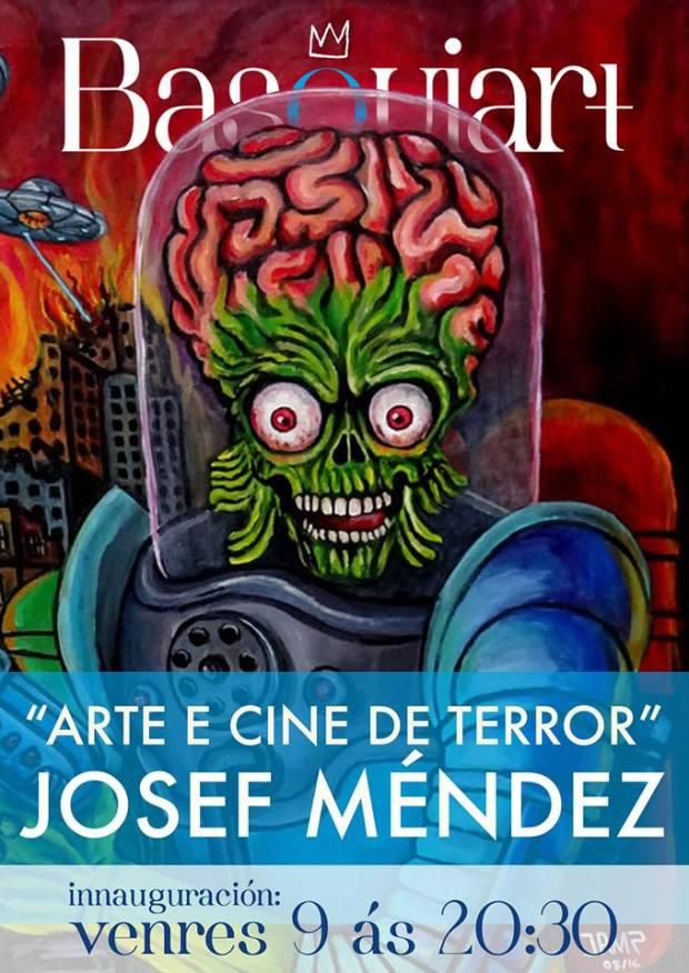 Basquiart Exposición Josef Méndez 09-06-2017