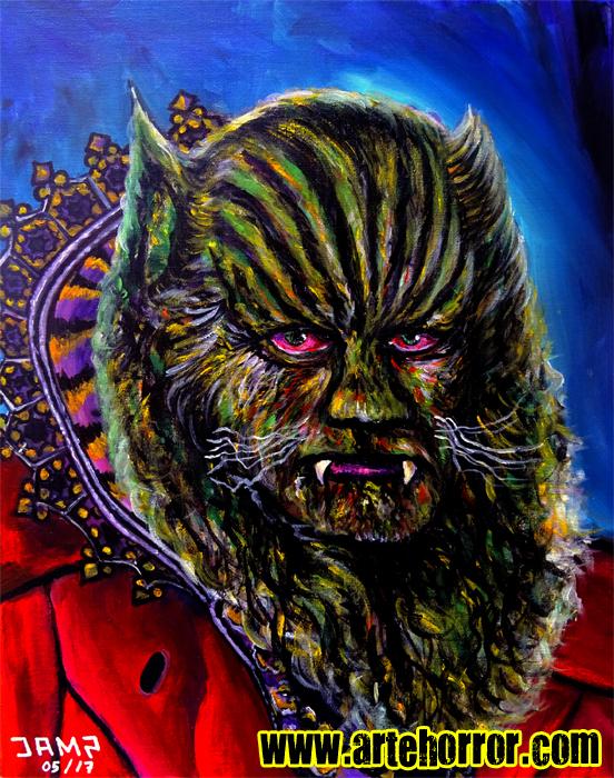 The Beast (Jean Marais) by J.A.Mendez.jpg