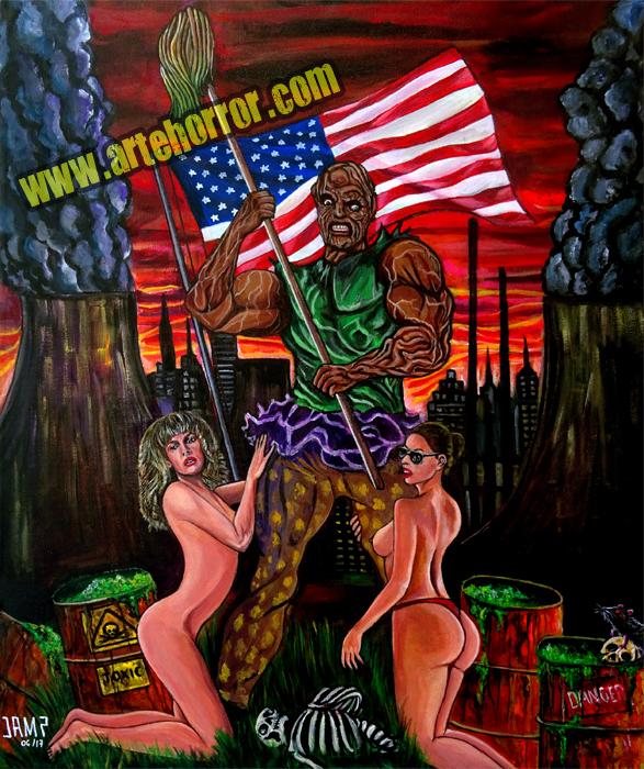 Toxic Avenger by J.A.Mendez