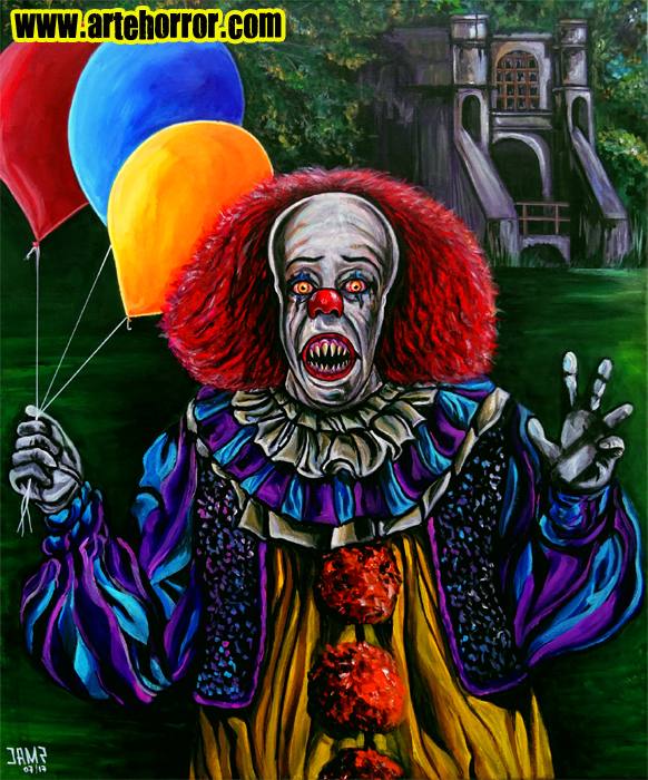 Pennywise (Stephen King IT) by J.A.Méndez