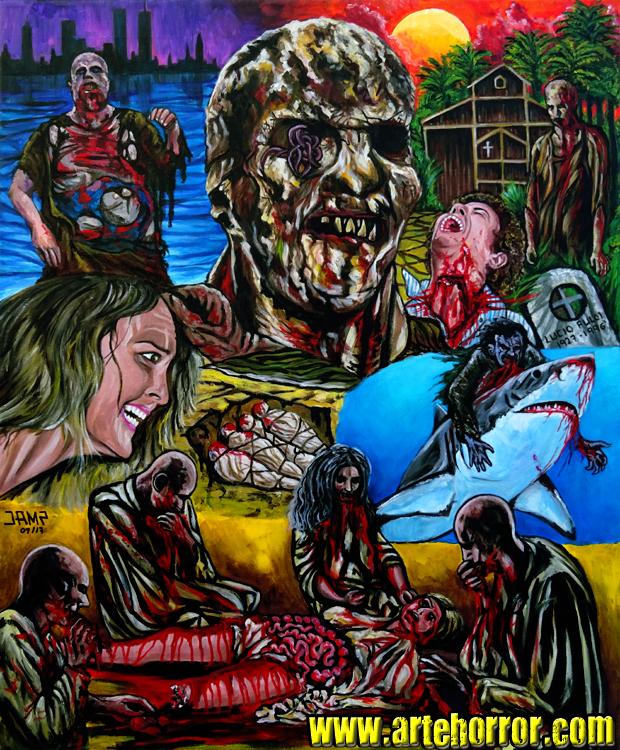 Zombi 2 (Zombie Flesh Eaters) by J.A.Méndez