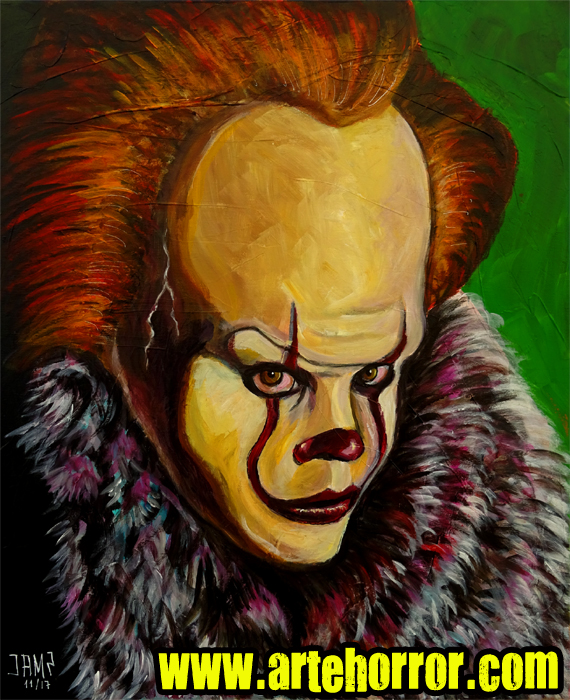 It Pennywise 2017 J.A.Mendez