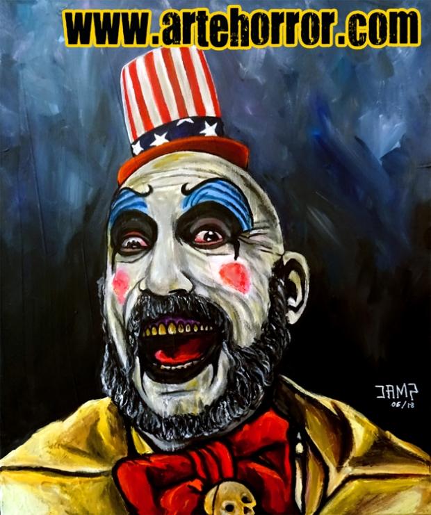 Captain Spaulding by J.A.Mendez