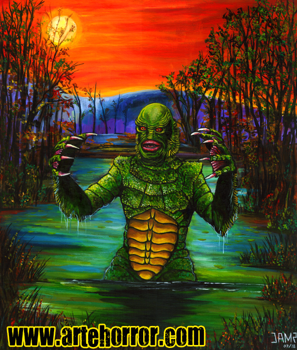 Creature Black Lagoon by Josef Mendez