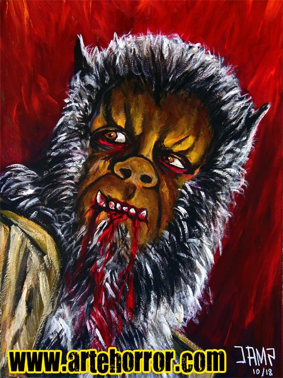 Curse Werewolf J.A.Mendez
