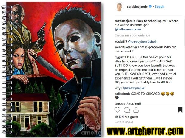 JamieLeeCurtis Instagram