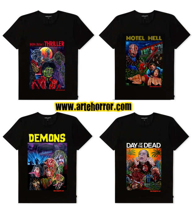 t-shirts-06 (Thriller,Motell Hell,Demons,Day of Dead)
