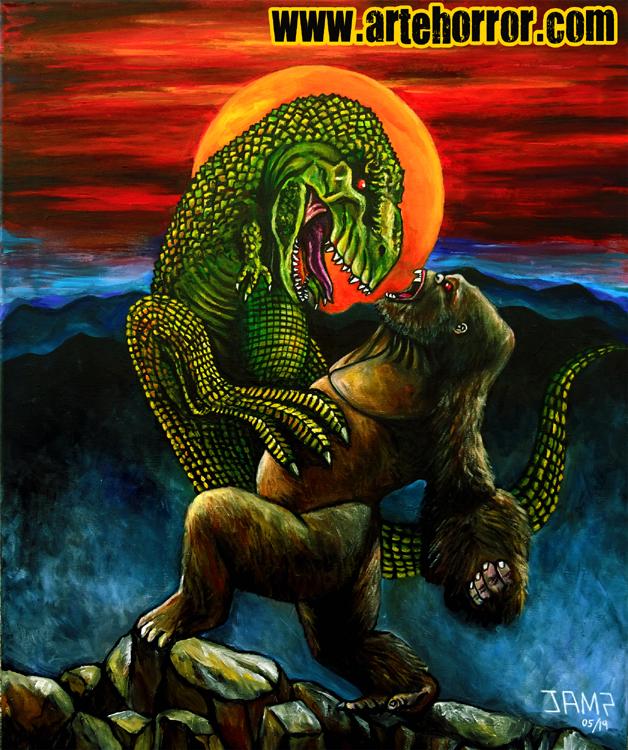 King Kong vs T.Rex  Josef Mendez.jpg