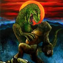 King Kong vs T.Rex Josef Mendez